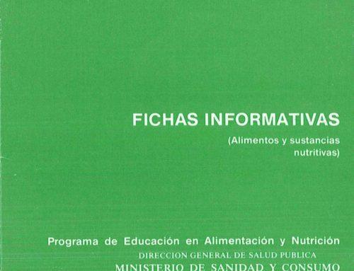 Fichas informativas (Alimentos y sustancias nutritivas)