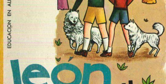 León Débil y dos perritos hermanos